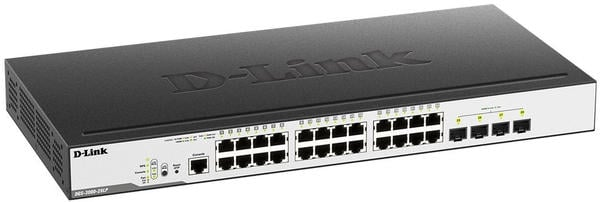 D-Link 28-Port Switch (DGS-3000-28LP)