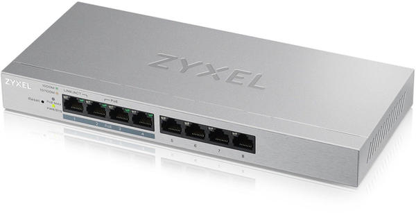 Zyxel 8-Port Gigabit PoE Switch (GS1200-8HP v2)