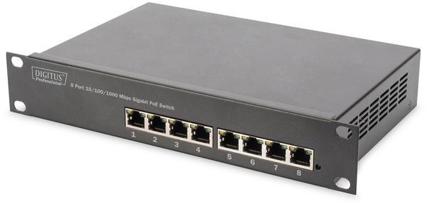 Digitus 8-Port Gigabit PoE Switch (DN-95317)