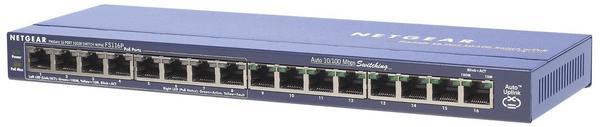 Netgear ProSafe FS116P