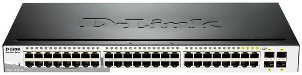 D-Link 48-Port Layer2 Smart Managed Gigabit Switch (DGS-1210-48)