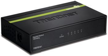 TRENDnet 5-Port Gigabit GREENnet Switch (TEG-S50G)