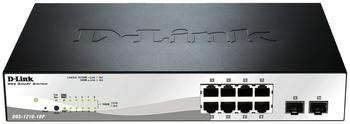 D-Link 10-Port Gigabit Switch (DGS-1210-10P)