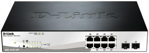D-Link 10-Port Gigabit Switch (DGS-1210-10P)