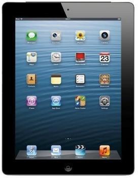 Apple iPad 4 mit Retina Display 9.7 32GB Wi-Fi Schwarz