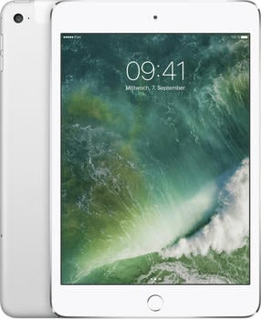 Apple iPad mini 4 128GB WiFi silber
