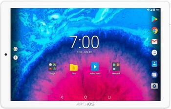 Archos Core 101 3G - 10,1 Zoll Tablet PC, 32 GB erweiterbarer Speicher, HD IPS Display 1280x800, 3GUMTS, Metallic Gehäuse, Android 7.0, Silber
