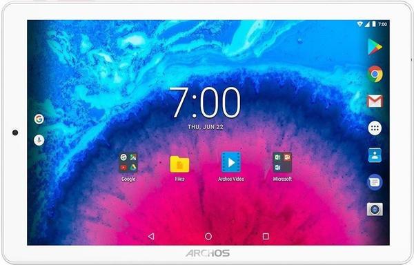 Archos Core 101 3G - 10,1 Zoll Tablet PC, 16 GB erweiterbarer Speicher, HD IPS Display 1280x800, 3GUMTS, Metallic Gehäuse, Android 7.0, Silber