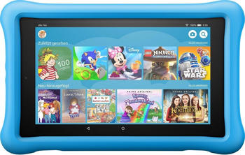 "Amazon Fire HD8 Kids Tablet (8"", 32 GB, Fire OS) blau"