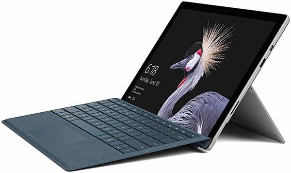 Microsoft Surface Pro 6 Convertible Notebook (31,24 cm/12,3 Zoll, Intel Core i5 256 GB SSD) grau