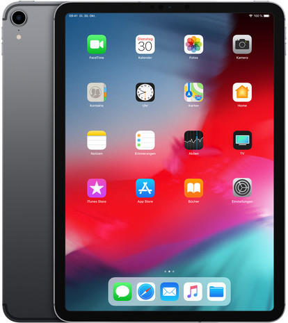 Apple iPad Pro 11.0 (2018) 64GB Wi-Fi Space Grau