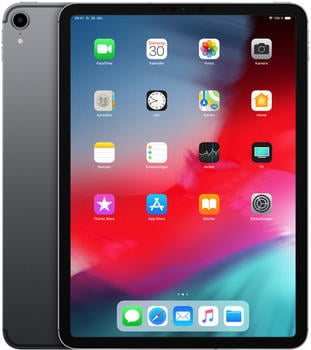 Apple iPad Pro 11.0 (2018) 1TB Wi-Fi + LTE Space Grau