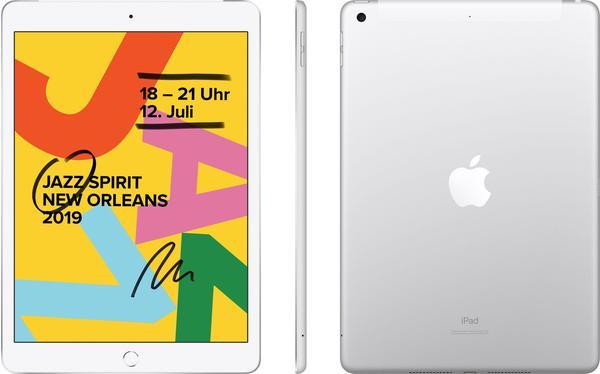 Apple iPad (2019) 128GB WiFi + 4G silber