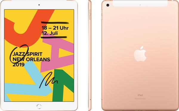 Apple iPad (2019) 128GB WiFi + 4G gold