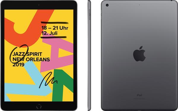 Apple iPad (2019) 128GB WiFi space grau