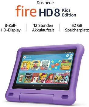 Amazon Fire HD 8 Kids Edition violett (2020)