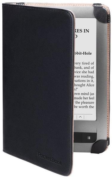 PocketBook Cover (PocketBook Touch/Pocketbook Touch Lux) schwarz/beige (PBPUC-623-BC-L)