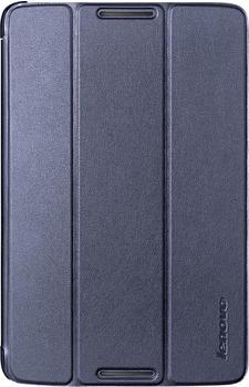 Lenovo A8-50 Folio Case and Film dunkelblau