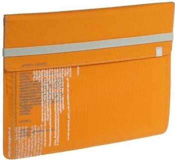 Lässig Pad Pouch iPad Text orange