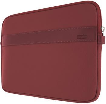 Artwizz Leder Sleeve für iPad 2 rot