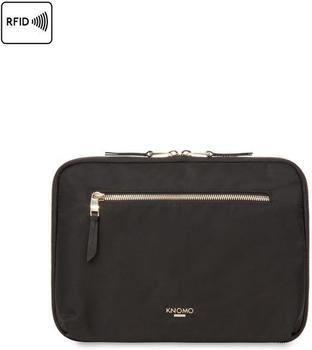 Knomo Mayfair Knomad Zip Around Folio 10´´ schwarz (119-068-BLK)