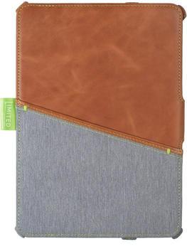 Gecko Covers Limited Cover iPad 9.7 (2018) braun/grau