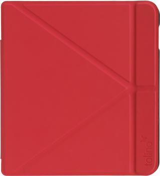 Tolino Vision 5 Origami Case Rot