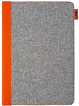 Gecko Covers Easy Click Cover iPad 10.2 Grau/Orange