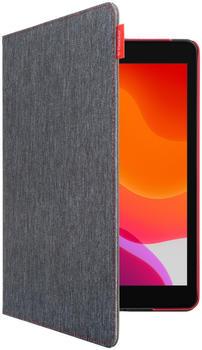 Gecko Covers Easy Click Cover iPad 10.2 Grau/Rot
