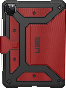 Urban Armor Gear Metropolis Case iPad Pro 11 2020 Rot/Schwarz