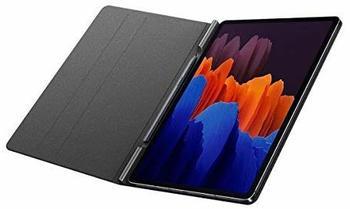 Samsung Galaxy Tab S7 Book Cover Silber