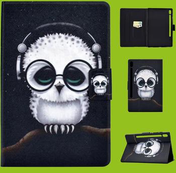 Wigento Für Samsung Galaxy Tab S6 Lite P610 P615 Motiv 54 Tablet Tasche Kunst Leder Hülle Etuis