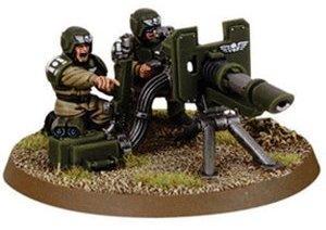 Warhammer 40.000 Imperiale Armee Cadianischer Waffenteamtrupp