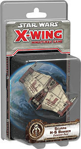Fantasy Flight Games Star Wars X-Wing: Scurrg H-6 Bomber Expansion Pack (englisch)
