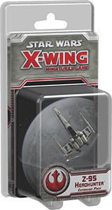 Fantasy Flight Games Star Wars X-Wing: Z-95 Headhunter Expansion Pack (englisch)