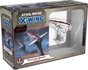 Fantasy Flight Games Star Wars X-Wing: Resistance Bomber Expansion Pack (englisch)