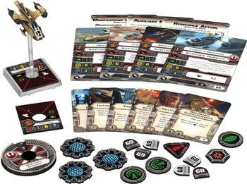 Fantasy Flight Games Star Wars X-Wing: Auzituck-Kanonenboot Erweiterungspack (FFGD4046)