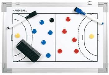 B+D Coach-Board Professional Handball 45x30 cm