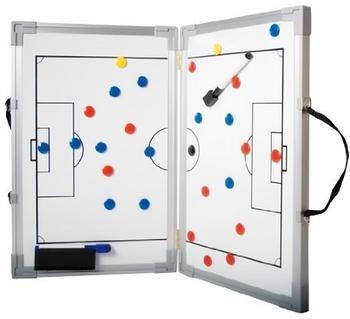 B+D Klappbare Fußball-Magnet-Lehrtafel 30x45 cm