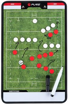 Pure2Improve Trainingsboard Rugby
