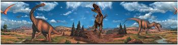 RoomMates Dinosaurier Bordüre
