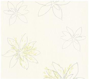 A.S. Creation Fiore grün metallic weiß 10,05mx0,53m (325823)