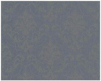 Architects Paper mit Glitter Haute Couture 3 blau grau metallic 10,05mx0,53m (290366)