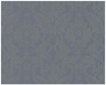 Architects Paper mit Glitter Haute Couture 3 blau grau metallic 10,05mx0,53m (290267)