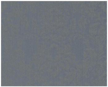 Architects Paper mit Glitter Haute Couture 3 blau grau metallic 10,05mx0,53m (290564)