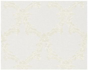 Architects Paper mit Glitter Haute Couture 3 creme metallic weiß 10,05mx0,53m (290410)