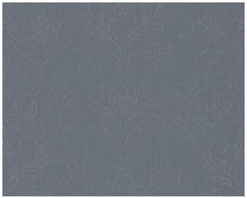 Architects Paper mit Glitter Haute Couture 3 blau grau metallic 10,05mx0,53m (290663)