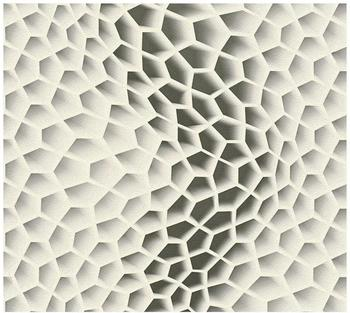 Livingwalls Harmony in motion by Mac Stopa creme graumetallic 10,05mx0,53m (327093)
