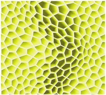 Livingwalls Harmony in motion by Mac Stopa grün metallic weiß 10,05mx0,53m (327091)