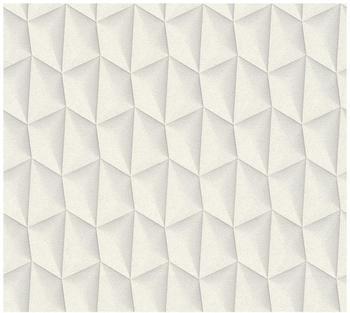 Livingwalls Harmony in motion by Mac Stopa creme grau weiß 10,05mx0,53m (327081)